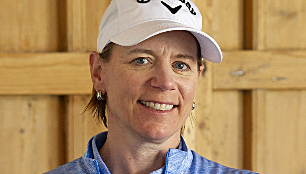 """Annika Sorenstam. """"I set up my foundation to give golf back what it gave to  me"""""""
